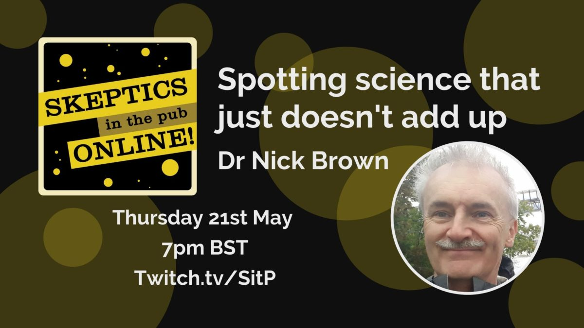 Spotting science that just doesn't add up - Dr Nick Brown