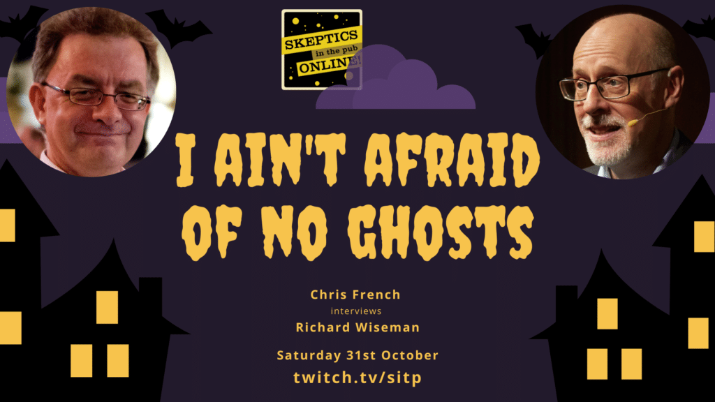 I ain't afraid of no ghosts
