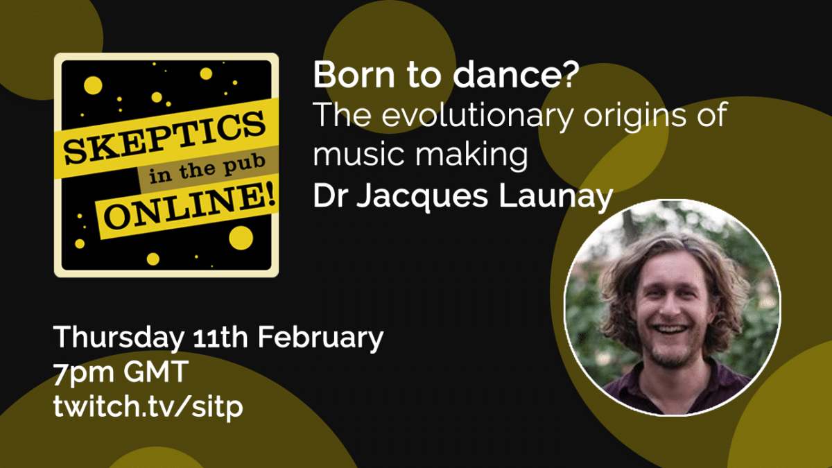 Born to dance? The evolutionary origins of music making - Dr Jacques Launay