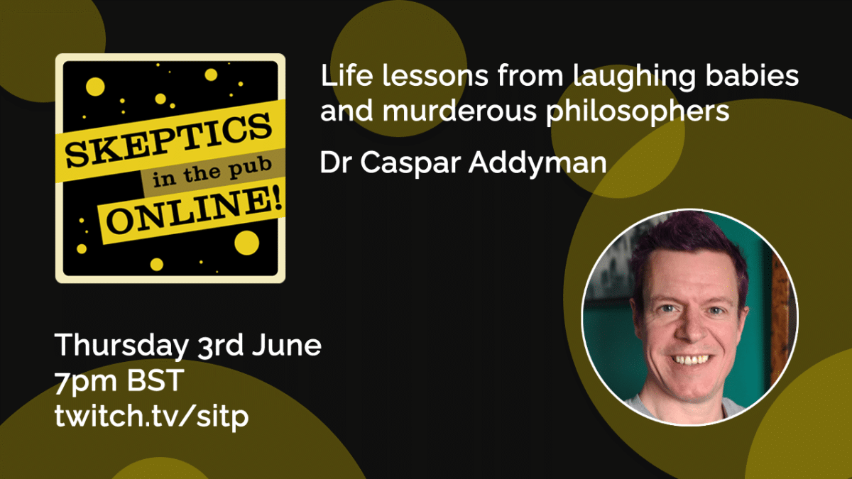 Life lessons from laughing babies and murderous philosophers - Dr Caspar Addyman
