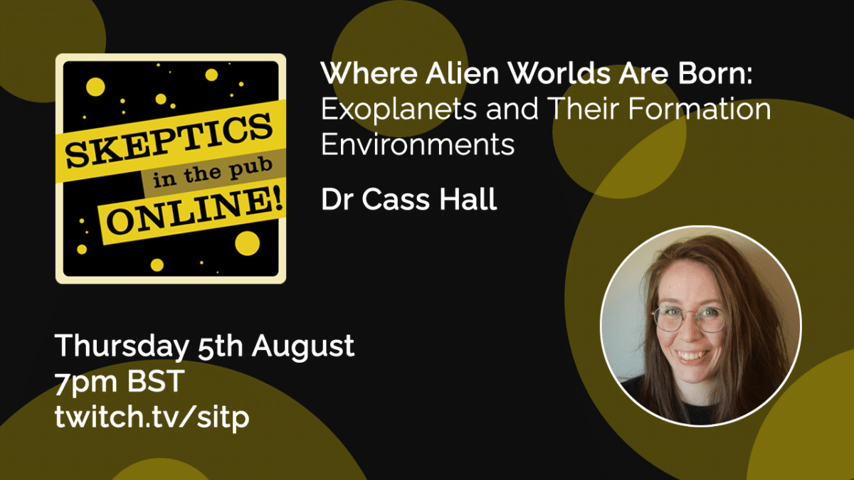 Where alien worlds are born: exoplanets and their formation environments - Dr Cass Hall