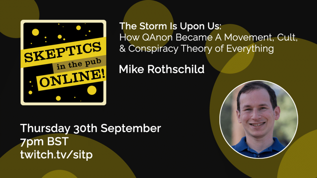 The Storm Is Upon Us: How QAnon Became a Movement, Cult, and Conspiracy Theory of Everything - Mike Rothschild